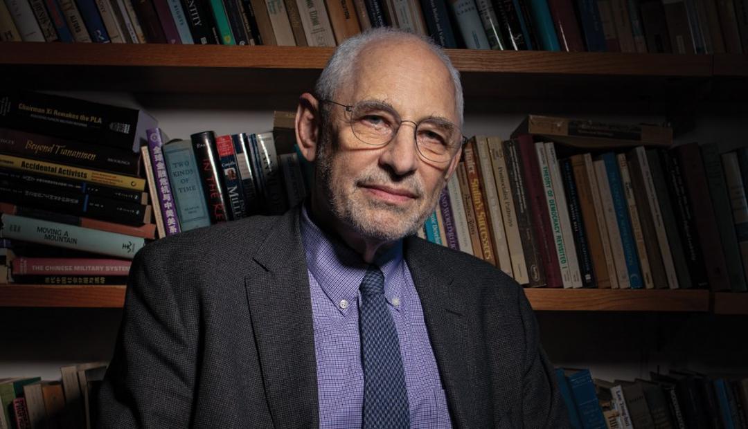 美國政治學教授黎安友(Andrew J. Nathan)。