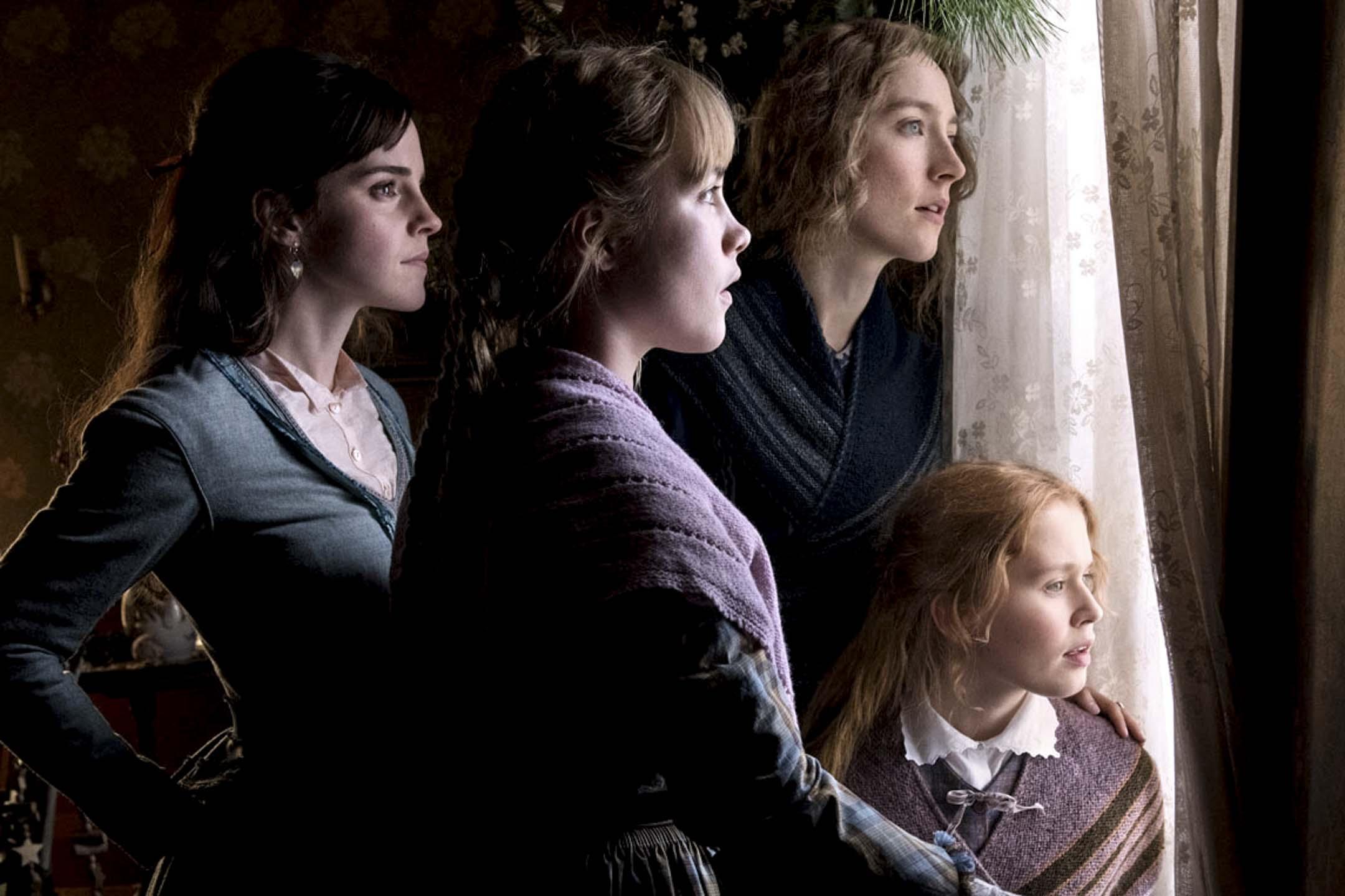 《小婦人》(Little Women)電影劇照。 網上圖片