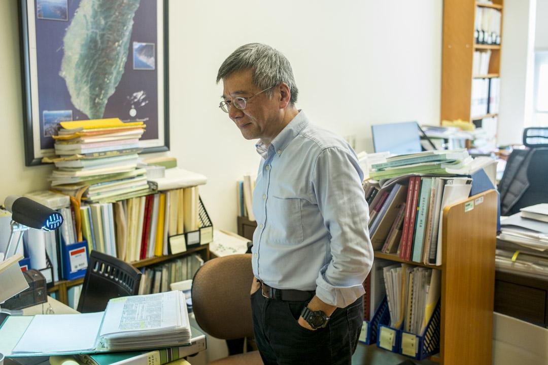 中央研究院社會學研究所研究員王甫昌。