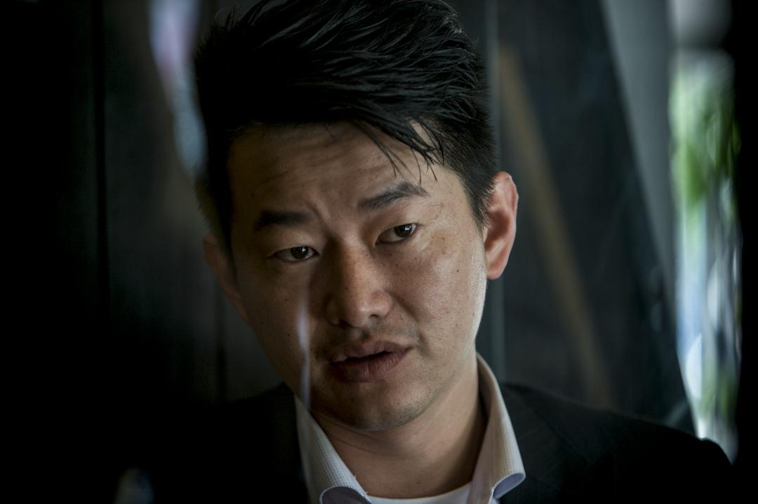 基進黨台中立委候選人陳柏惟。