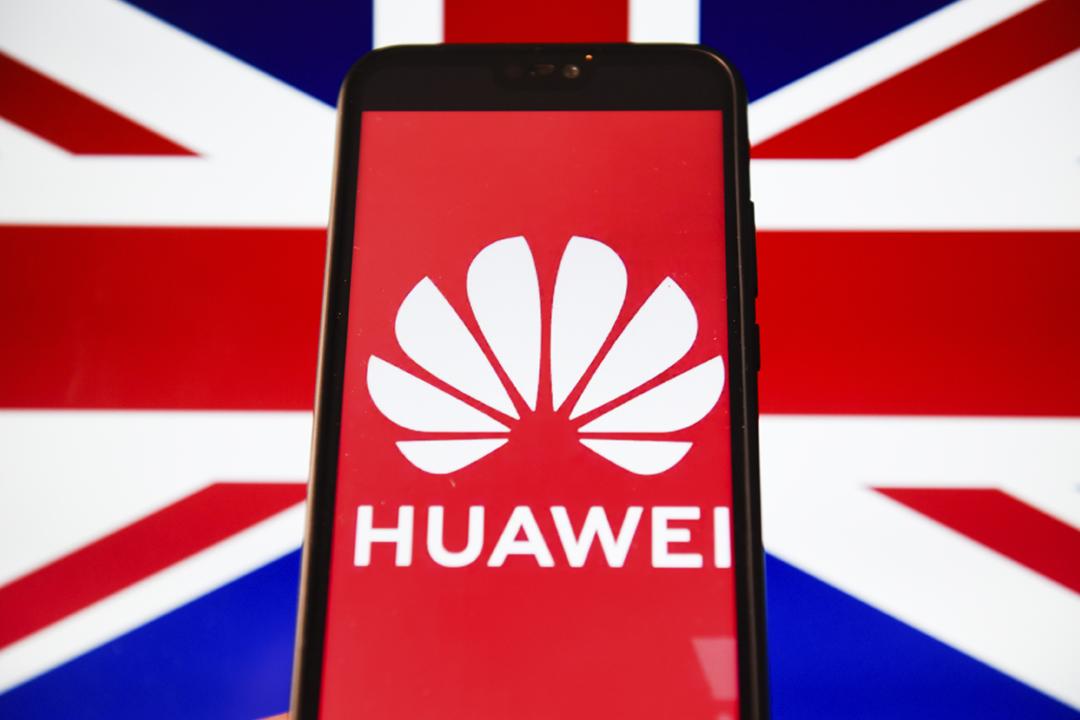 據報英國政府會於本月內決定是否容許中國電訊設備商華為參與該國 5G 網絡建設,美方呈交新證據、盡最後努力遊說英方勿用華為設備。 攝:Omar Marques / SOPA Images / LightRocket via Getty Images