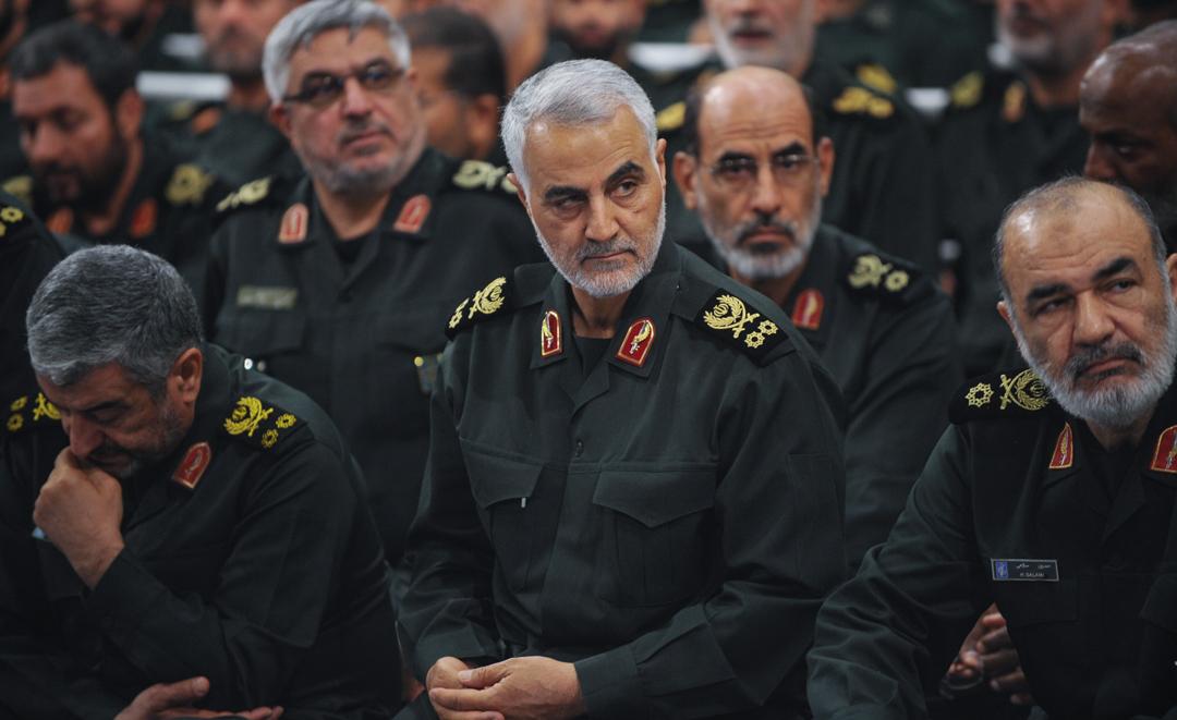 伊朗革命衛隊聖城軍(Quds Force)總司令卡西姆蘇萊曼尼(Qassam Suleimani)。