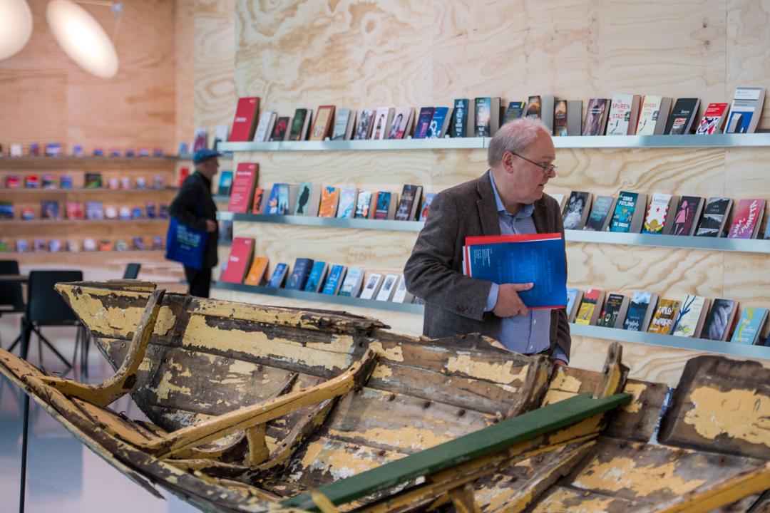2019年德國法蘭克福書展展場。 攝:Thomas Lohnes/Getty Images