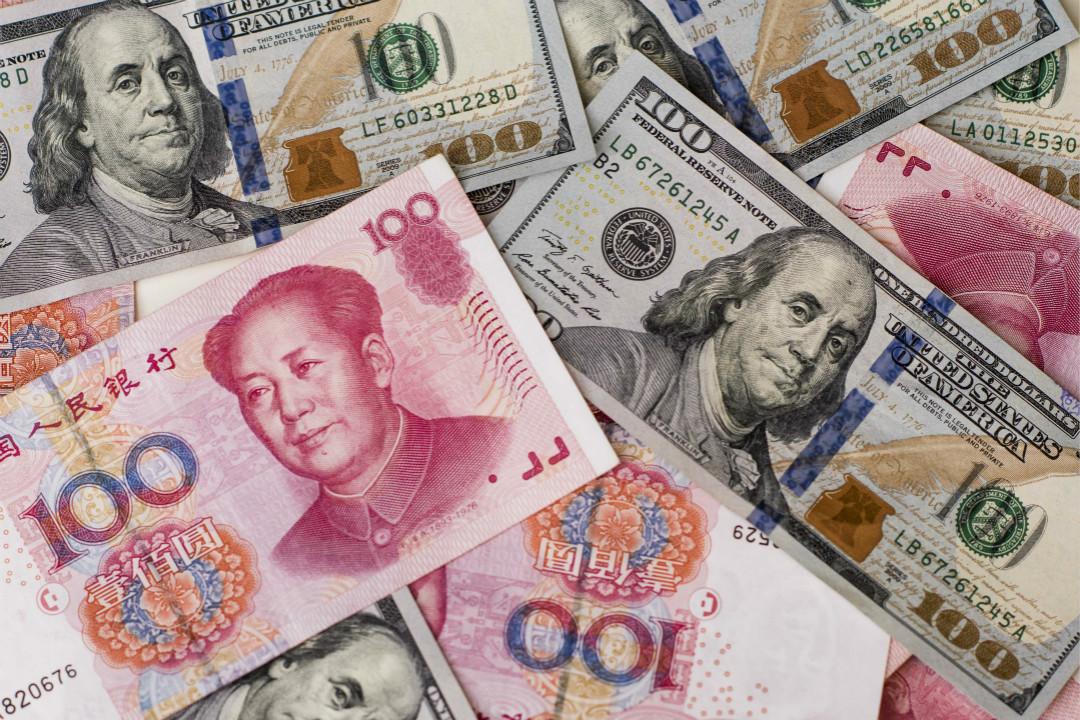 2020年1月13日,美國財政部報告顯示,不再將中國列為匯率操縱國。 攝:Xaume Olleros/Getty Images