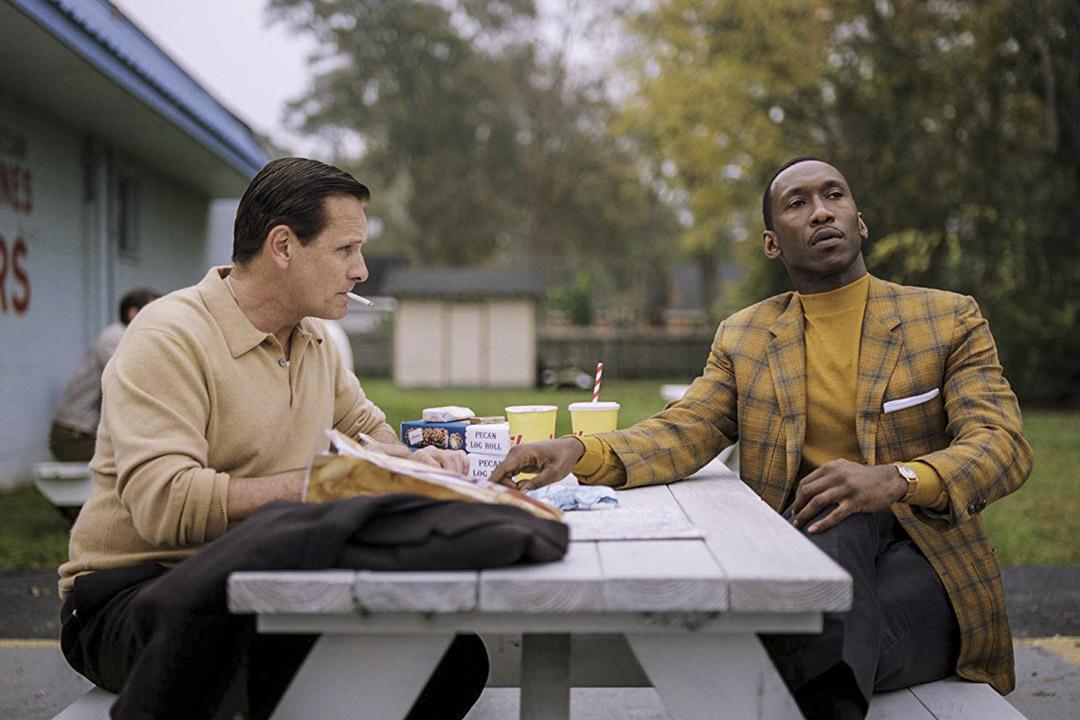 去年獲得奧斯卡最佳影片的《幸福綠皮書》。