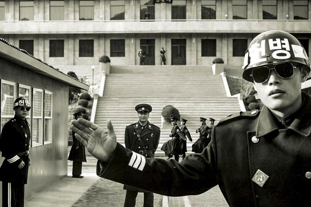 《共同警戒區》劇照。