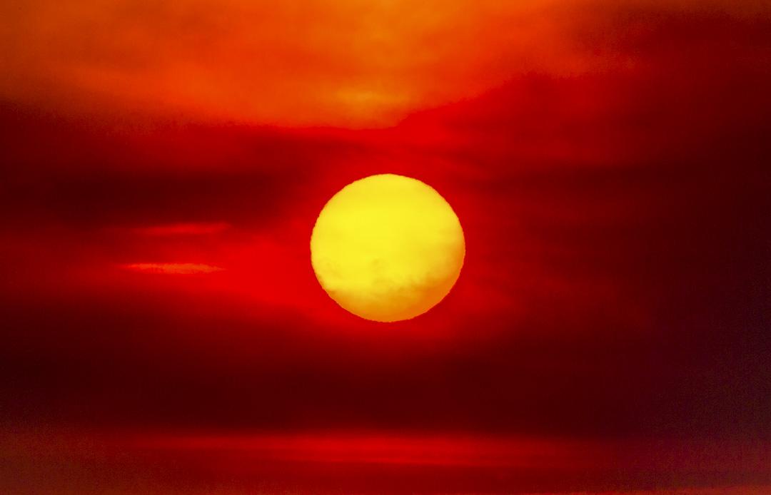 太陽照常升起。