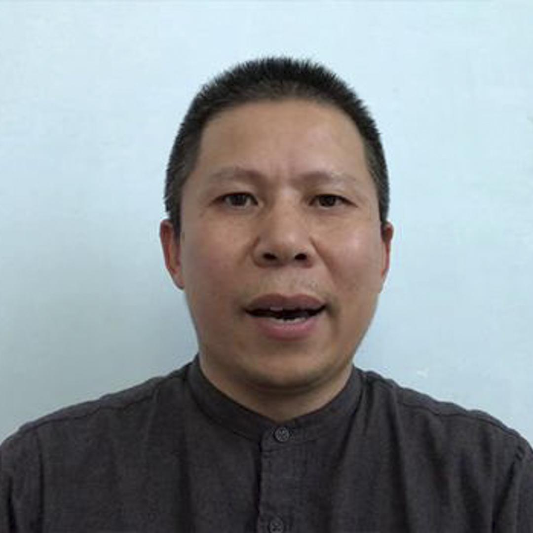 活躍的社會運動者、法學博士許志永。