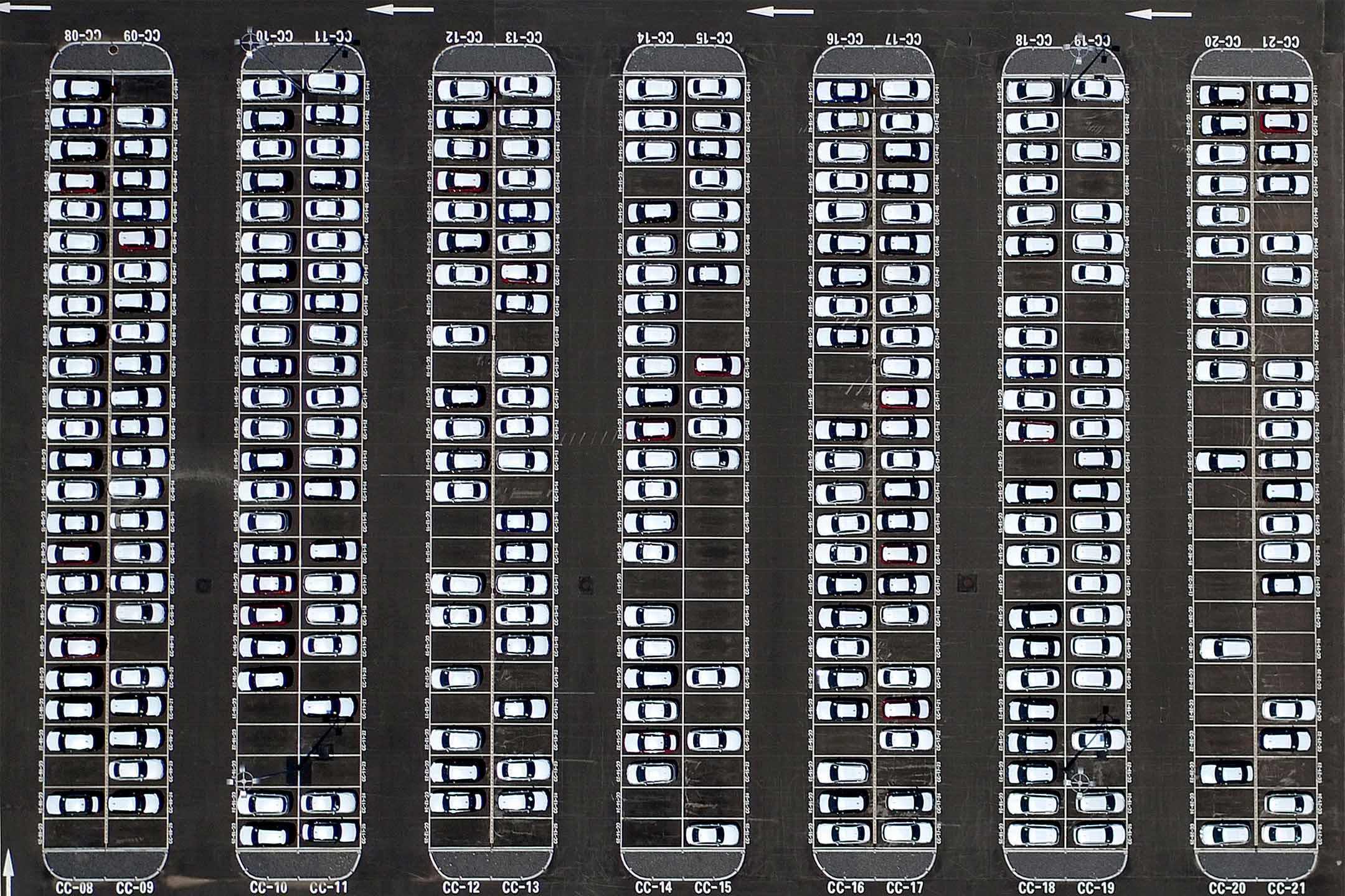 2016年6月12日,中國遼寧瀋陽某汽車廠的鳥瞰圖。