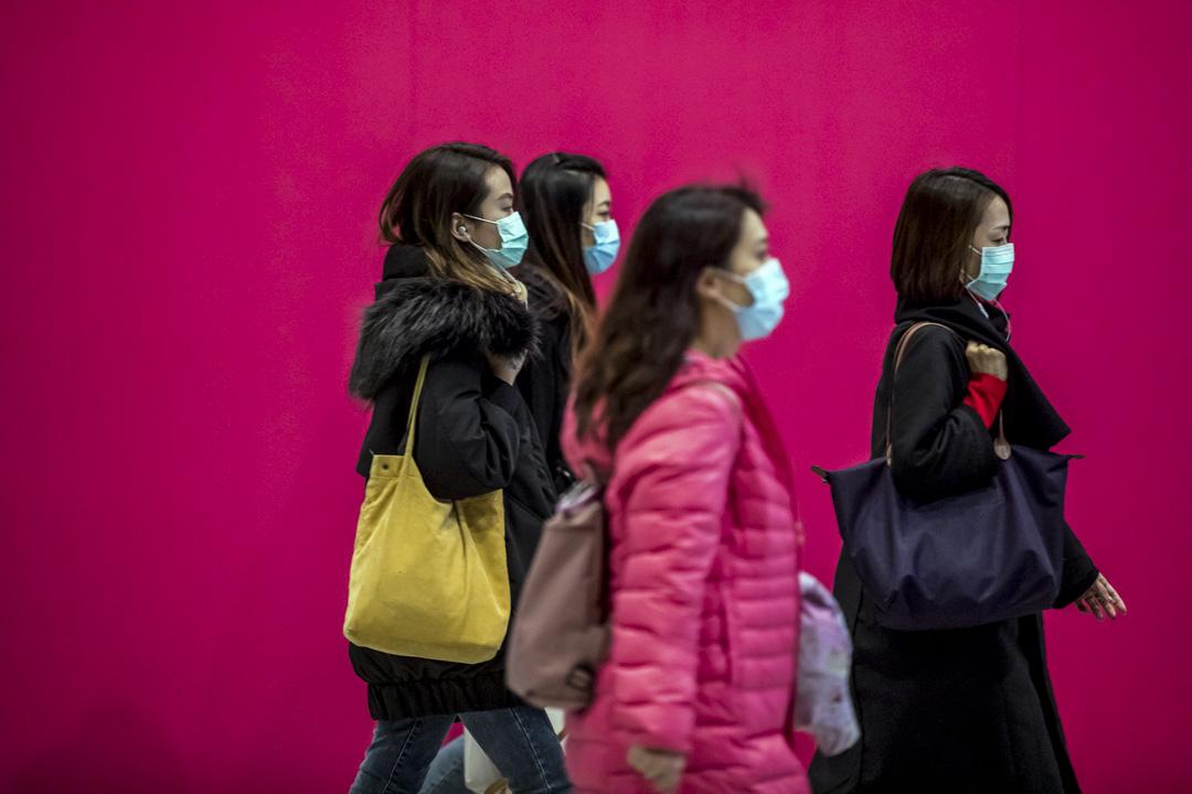 2020年1月31日,中環。 攝:Paul Yeung/Bloomberg via Getty Images