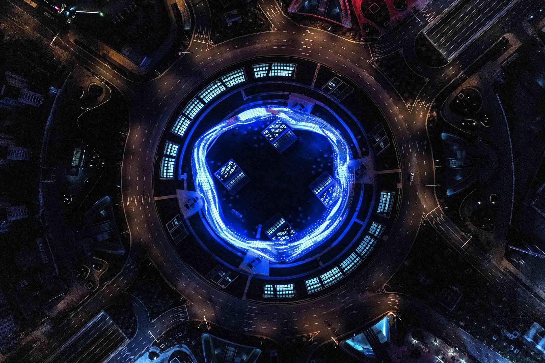 2020年2月16日,封城中的武漢。 圖:Getty Images