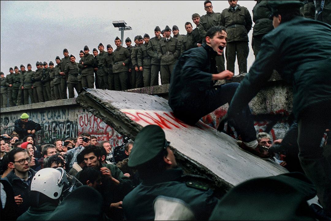 1989年11月德國柏林圍牆。