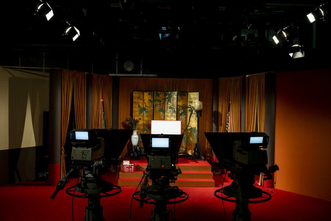 2020年3月13日,香港電台《頭條新聞》錄影廠。