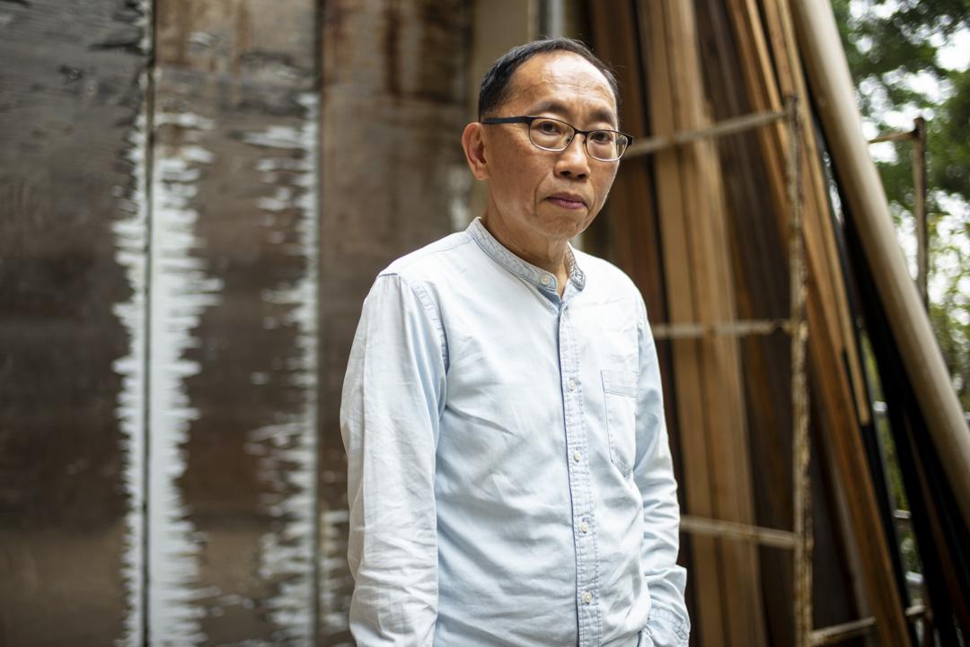 《頭條新聞》主持人吳志森,飾演太后、大帥、唐僧、有為。