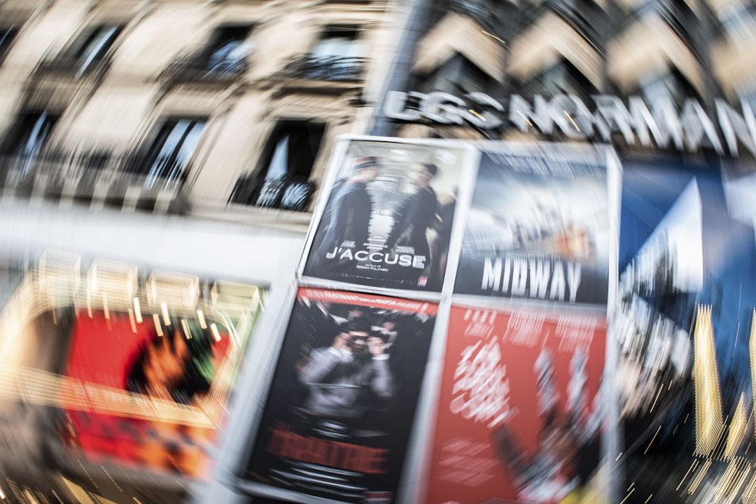 2019年11月13日,波蘭斯基(Roman Polanski)作品《我控訴》(J'accuse)在巴黎一家電影院上映。