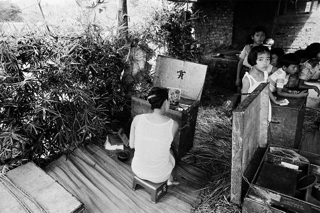 農舍廚房,北新莊(1975-1976)。