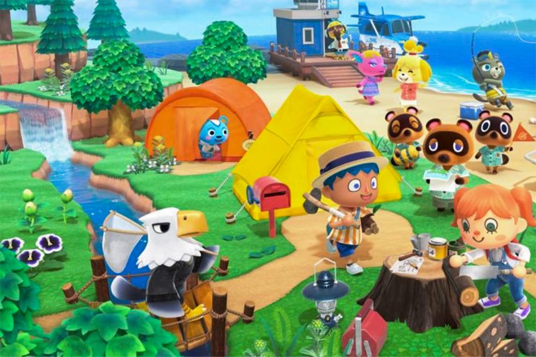 Switch遊戲《動物之森》。 圖 : 網上圖片