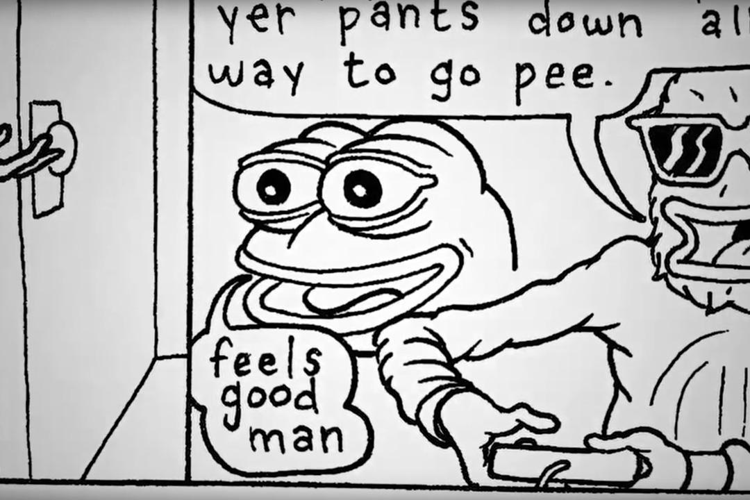 紀錄片《Feels Good Man》講述人氣動畫角色Pepe的誕生過程。
