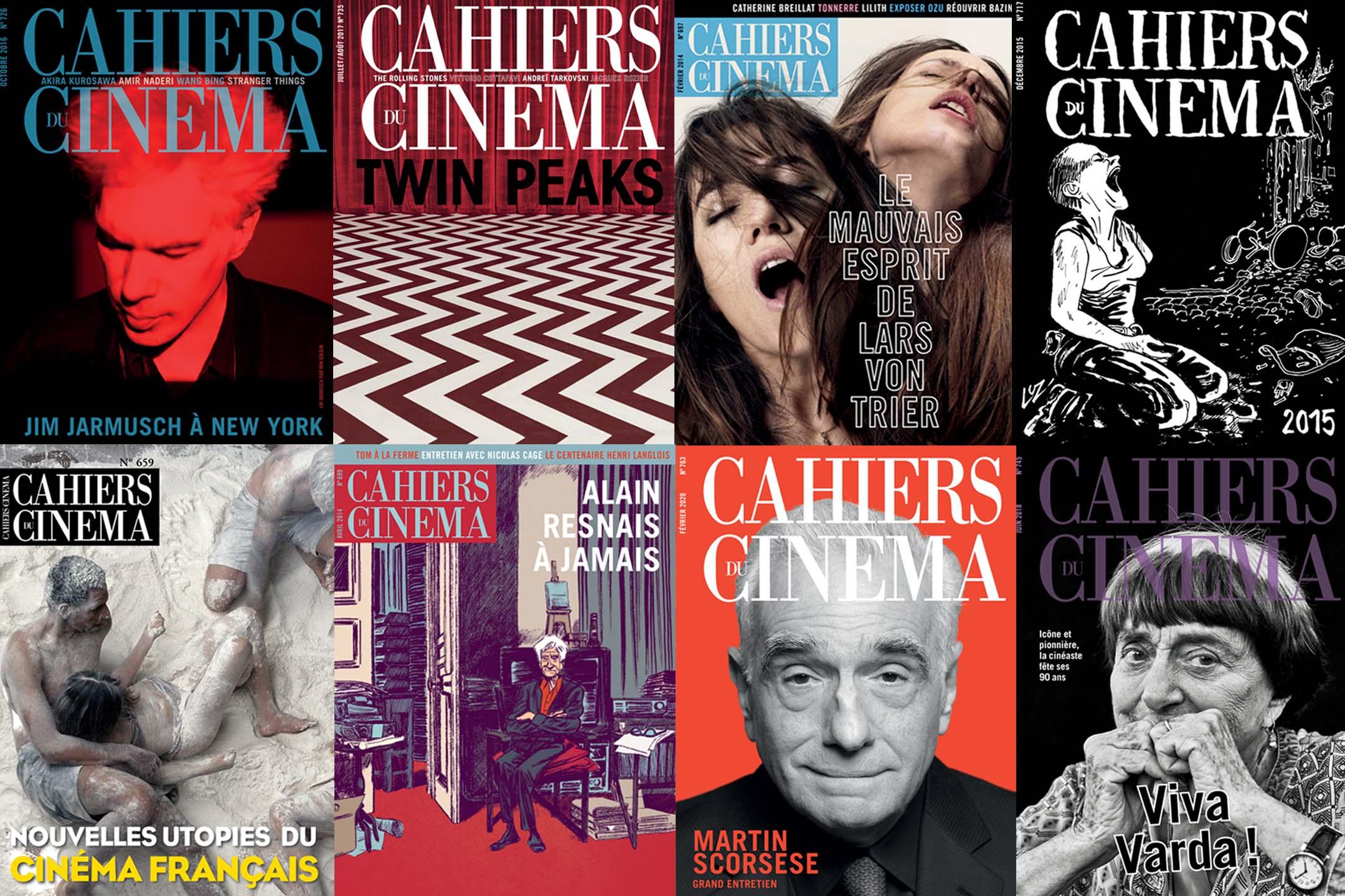 《電影手册》封面。 圖:網上圖片