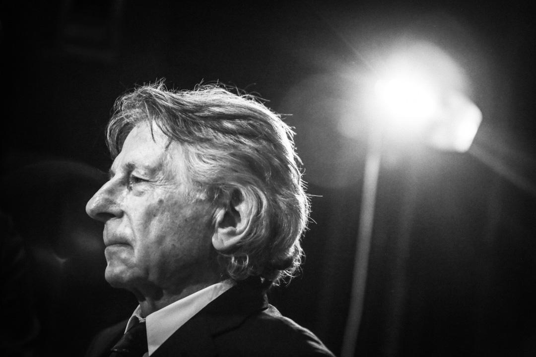 2016年5月24日,波蘭斯基(Roman Polanski) 在波蘭出席一個電影發佈會。 攝:Beata Zawrzel/NurPhoto via Getty Images