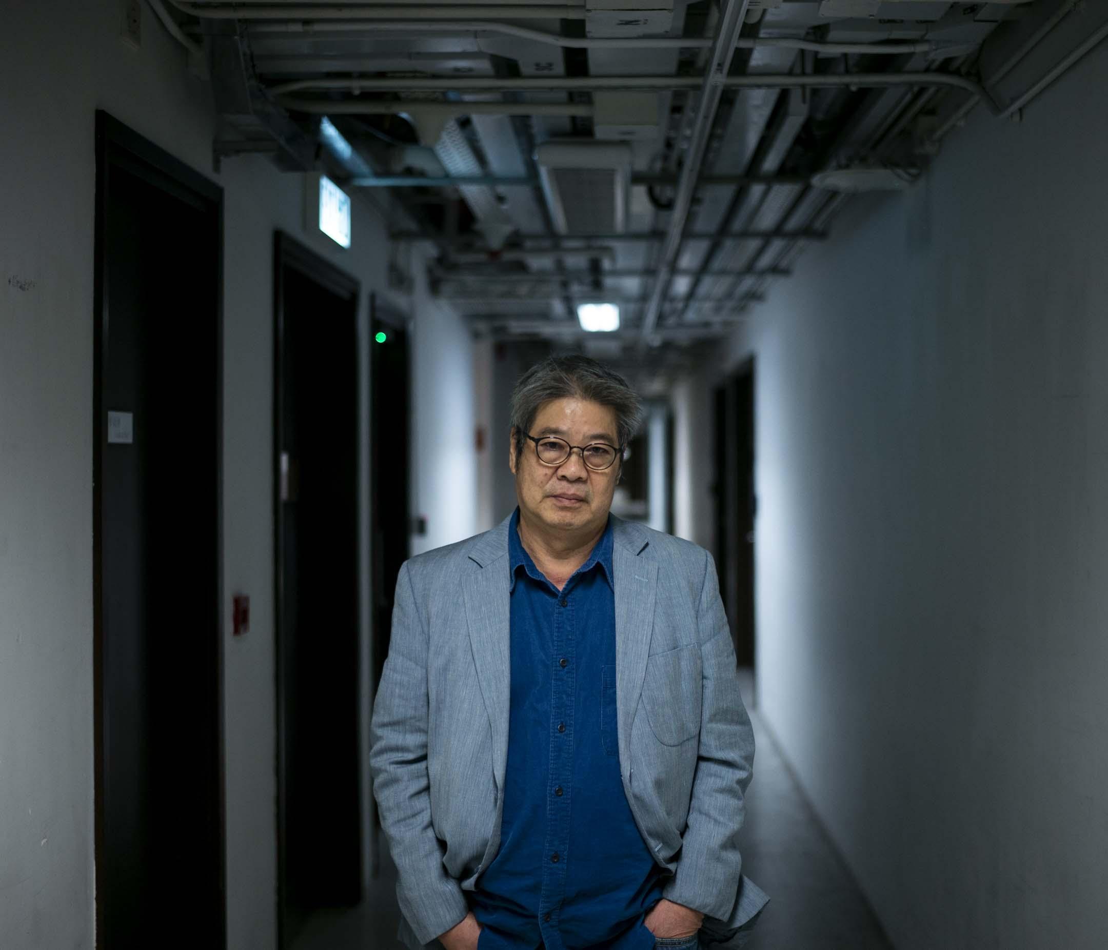 香港電台前助理廣播處長施永遠。 攝:林振東/端傳媒