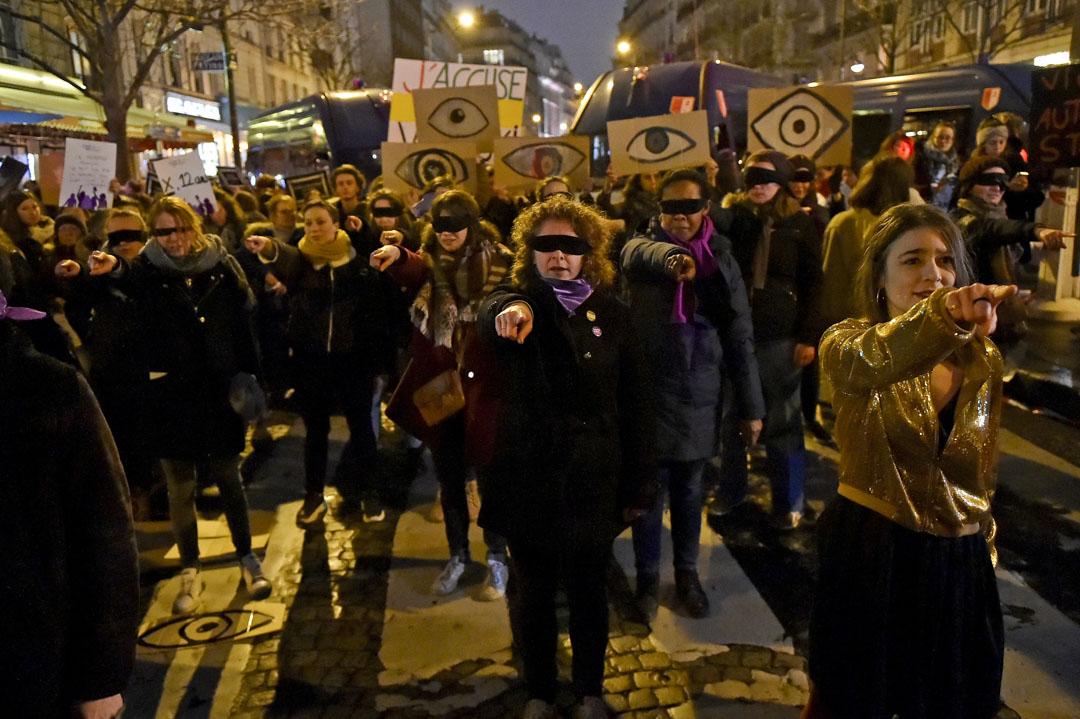 2020年2月28日,凱撒獎在巴黎舉行頒獎禮,波蘭斯基奪得最佳導演獎等3項殊榮,場外有大量示威者抗議。