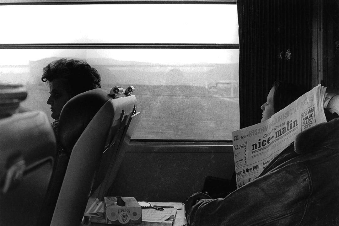法國高鐵乘客(1976-1980)。