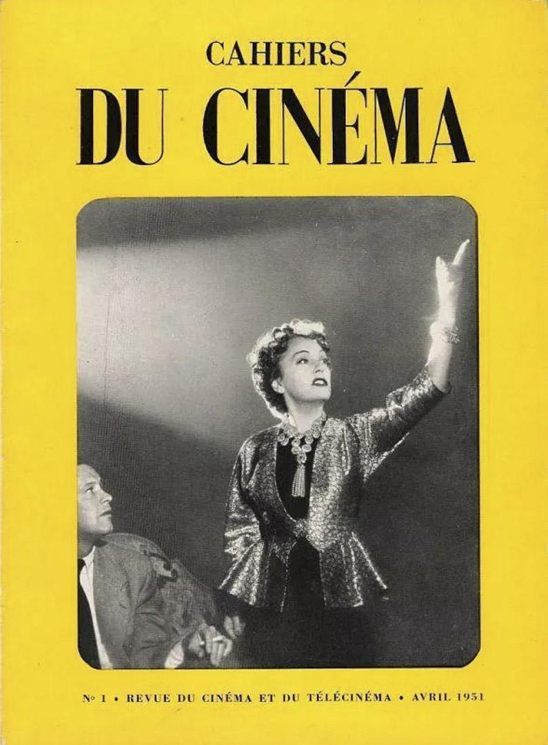 《電影手冊》第一期封面。