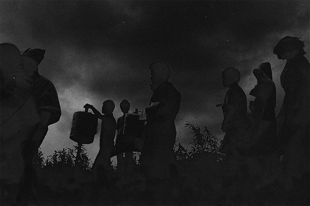 招魂四聯作 III (1975)。