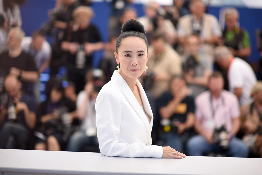 日本導演河瀨直美。