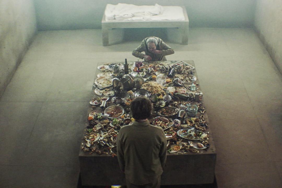 《飢餓鬥室》劇照。 圖:安樂影片提供