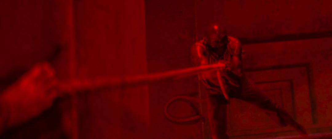 《饑餓鬥室》劇照。