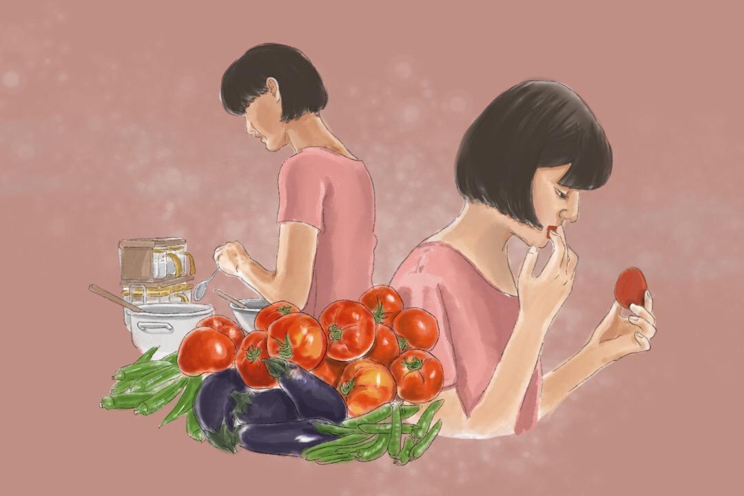 而苦澀,從來都是眾多味道的一種。 插畫:Rosa Lee