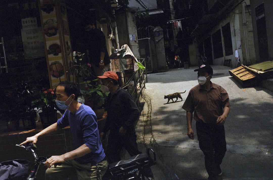 2020年4月17日,廣州寶漢直街。