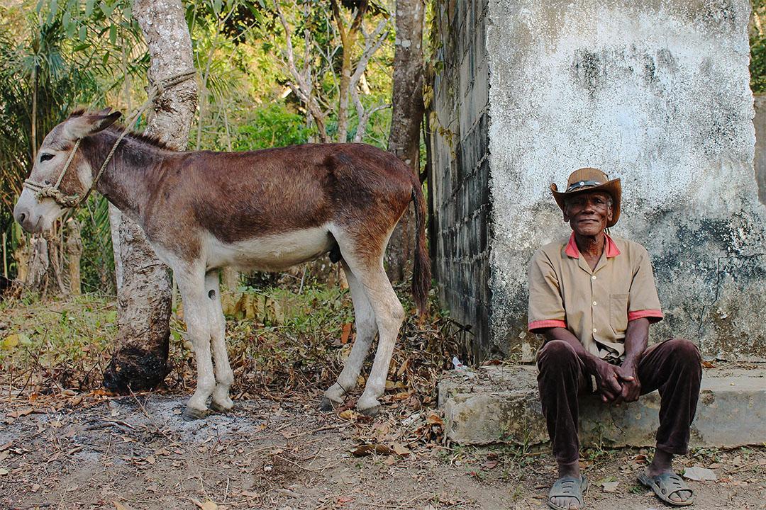 瑪利亞山(Montes de Maria)區的一位農民。