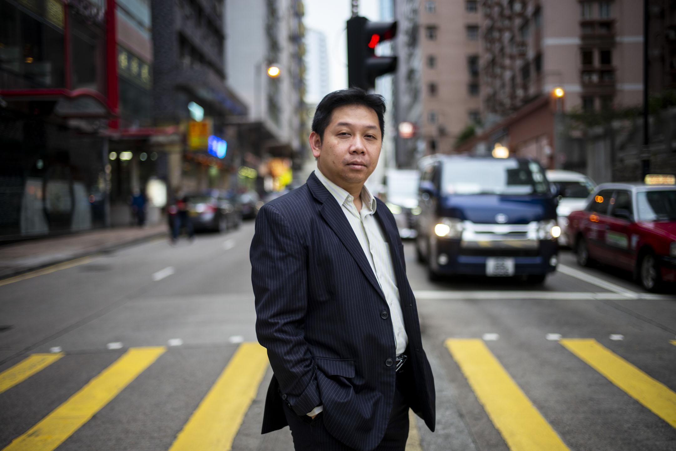 交通銀行香港分行前首席經濟及策略師羅家聰。 攝:林振東/端傳媒
