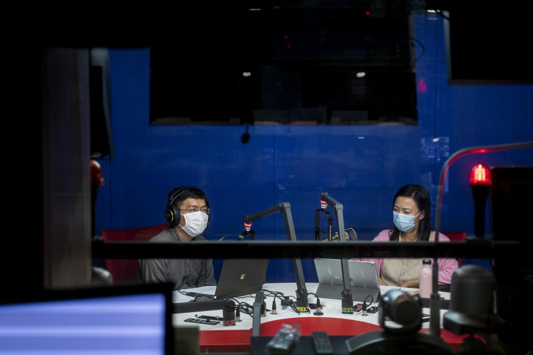 2020年3月31日,區諾軒接受D100電台節目訪問。