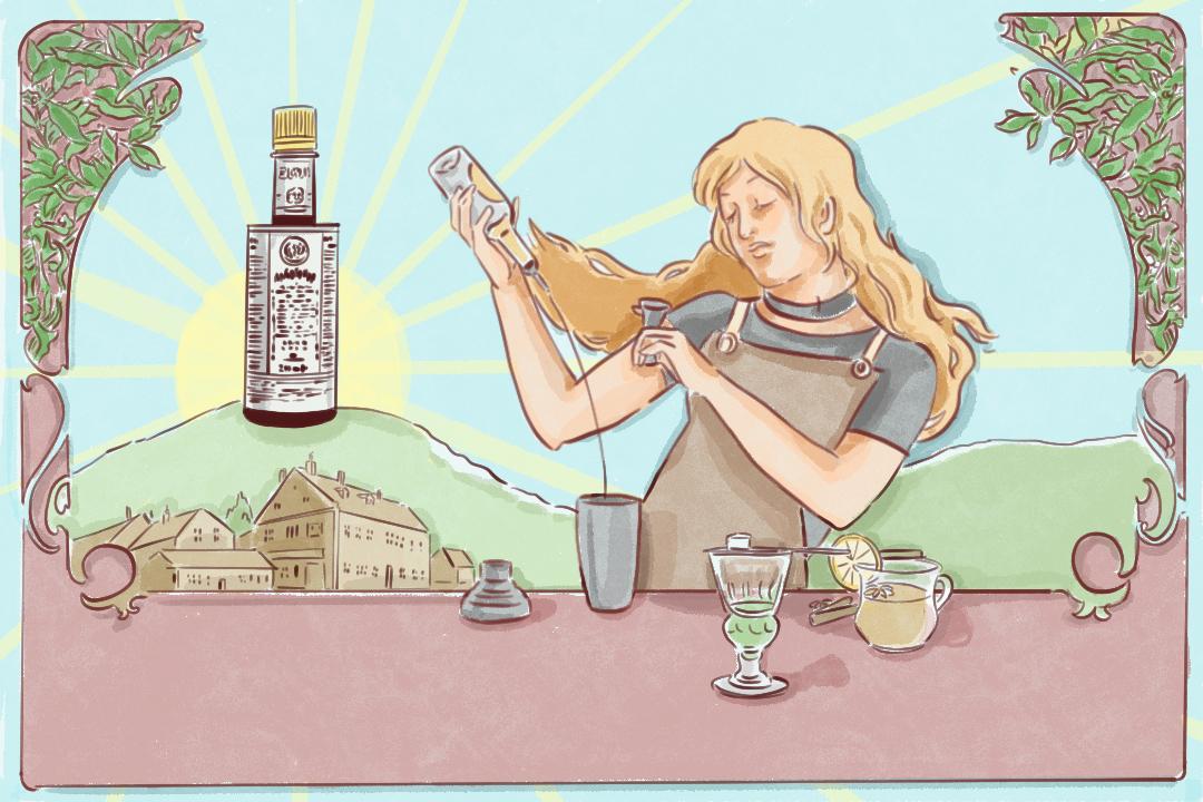 安居防疫良酒 插畫:Rosa Lee