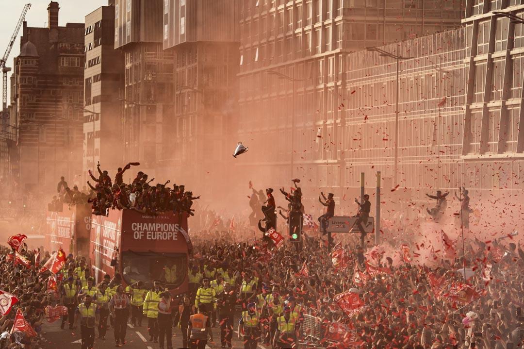 2019年6月2日,英超聯球隊利物浦奪得歐聯後在利物浦舉行勝利巡遊,吸引75萬人參加 。