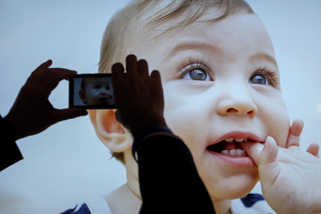 2013年1月7日,美國一個國際電子展上展示的4K電視。