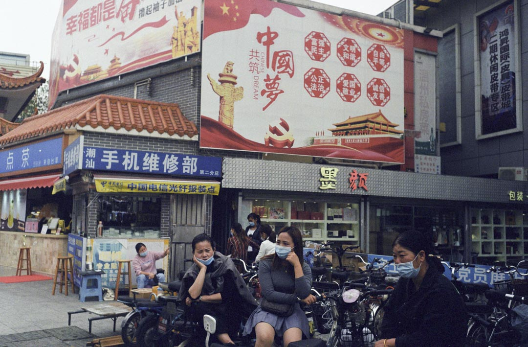 2020年4月17日,廣州三元里大道。