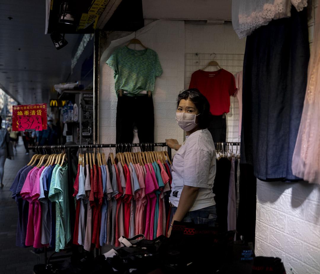 佐敦短租女裝服飾店的施小姐。