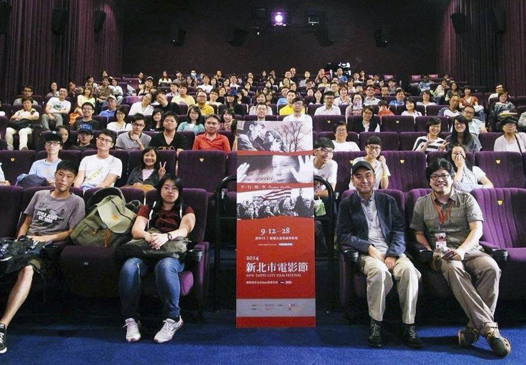佐佐部清於2014年出席新北市電影節活動。