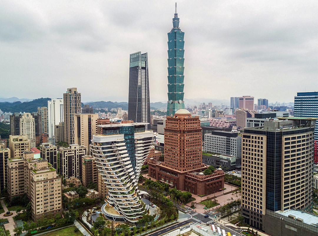 2019年3月30日,台北101大樓。
