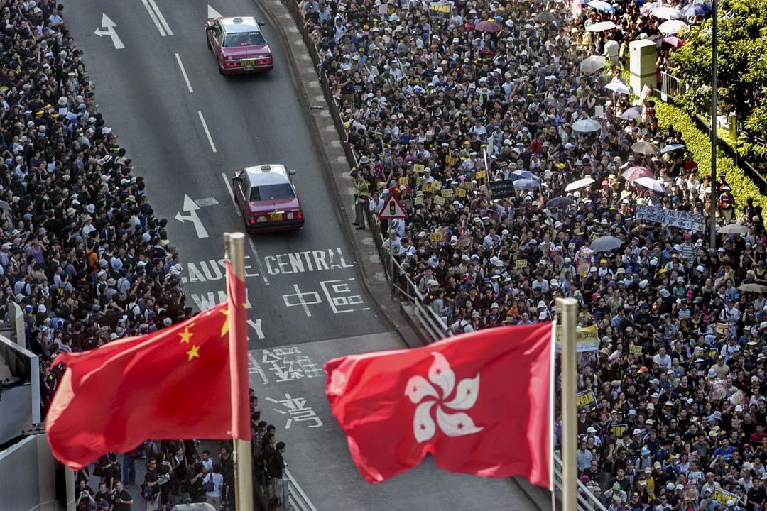 2003年7月1日,50萬人遊行抗議23條立法。