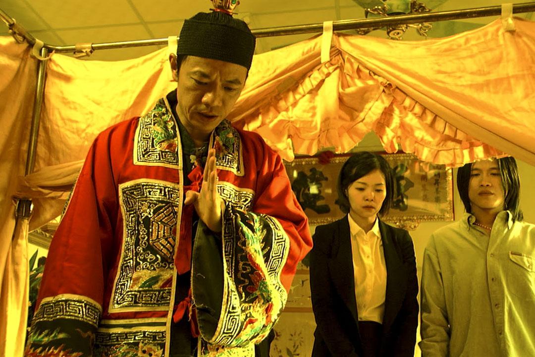 吳朋奉在《父後七日》的演出片段。 網上圖片