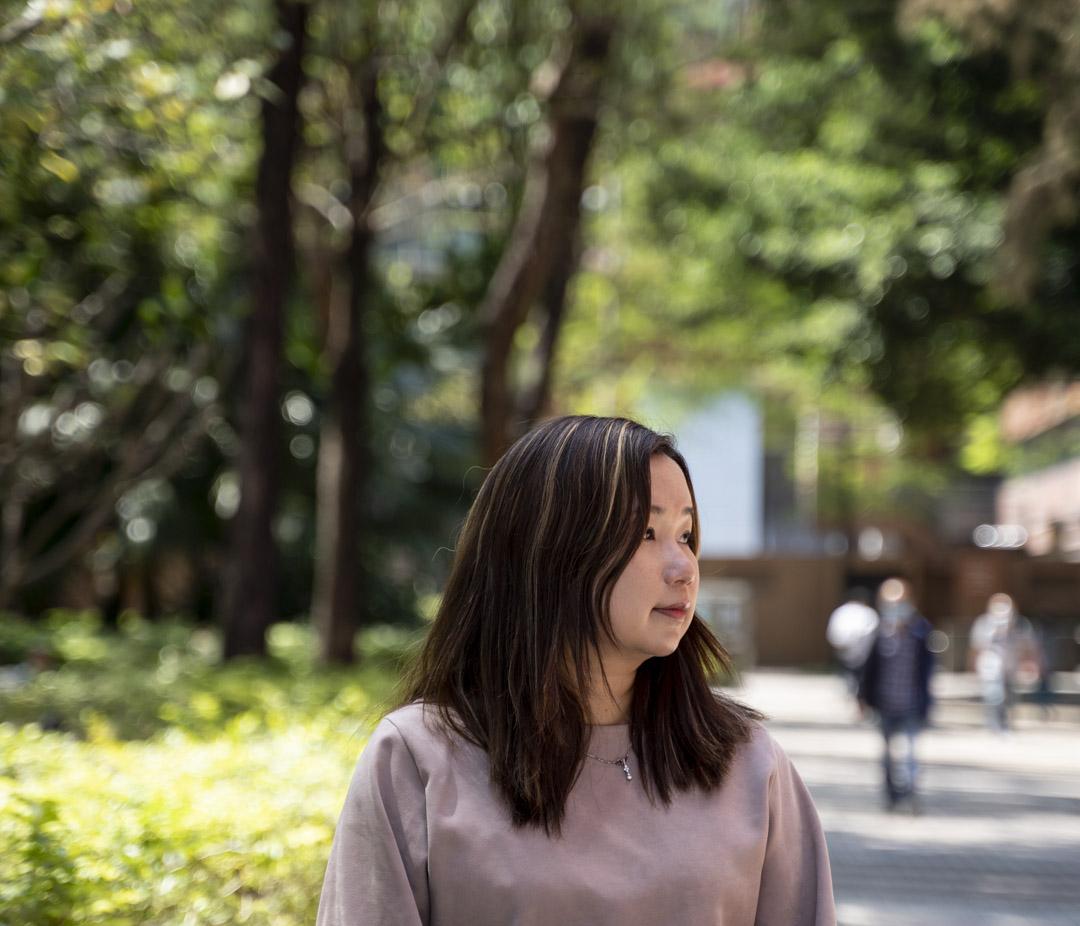香港社工趙盈恩。