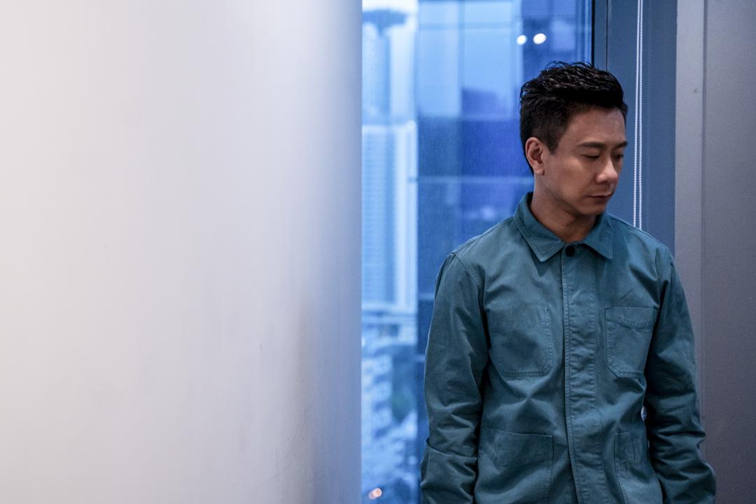 香港演員朱栢康。 攝:劉子康/端傳媒