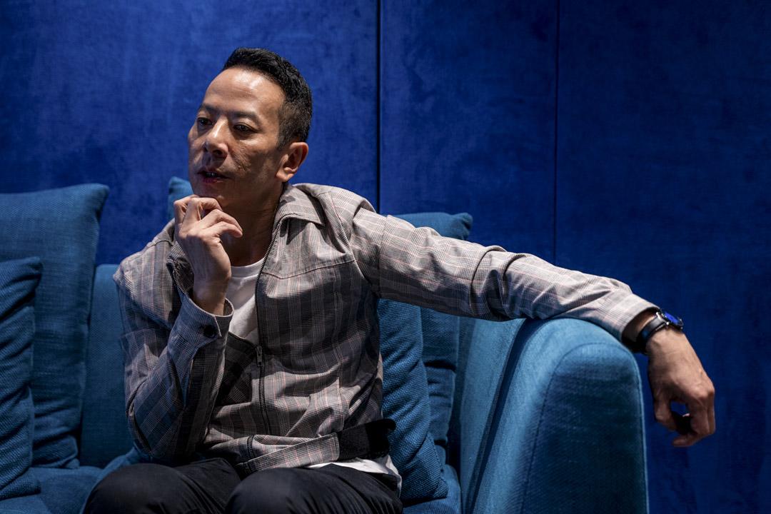 《叔·叔》的導演楊曜愷。 攝:劉子康/端傳媒