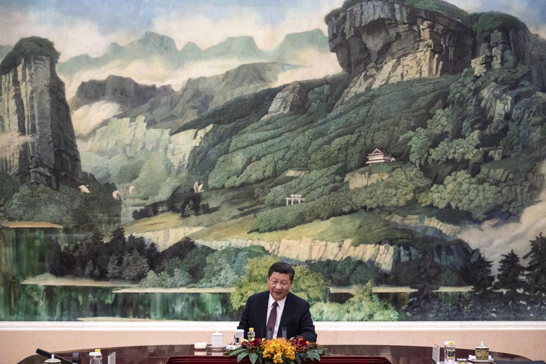 2018年12月7日,國家主席習近平在北京人民大會堂。